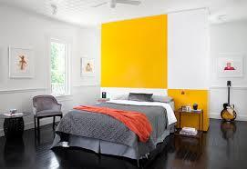 gelbe wand - 20 ideen für gelbe farbgestaltung - freshouse - Schlafzimmer Gelb Grau