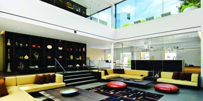 Mezzanine offener wohnraum farbgestaltung freshouse for Wohnraum farbgestaltung