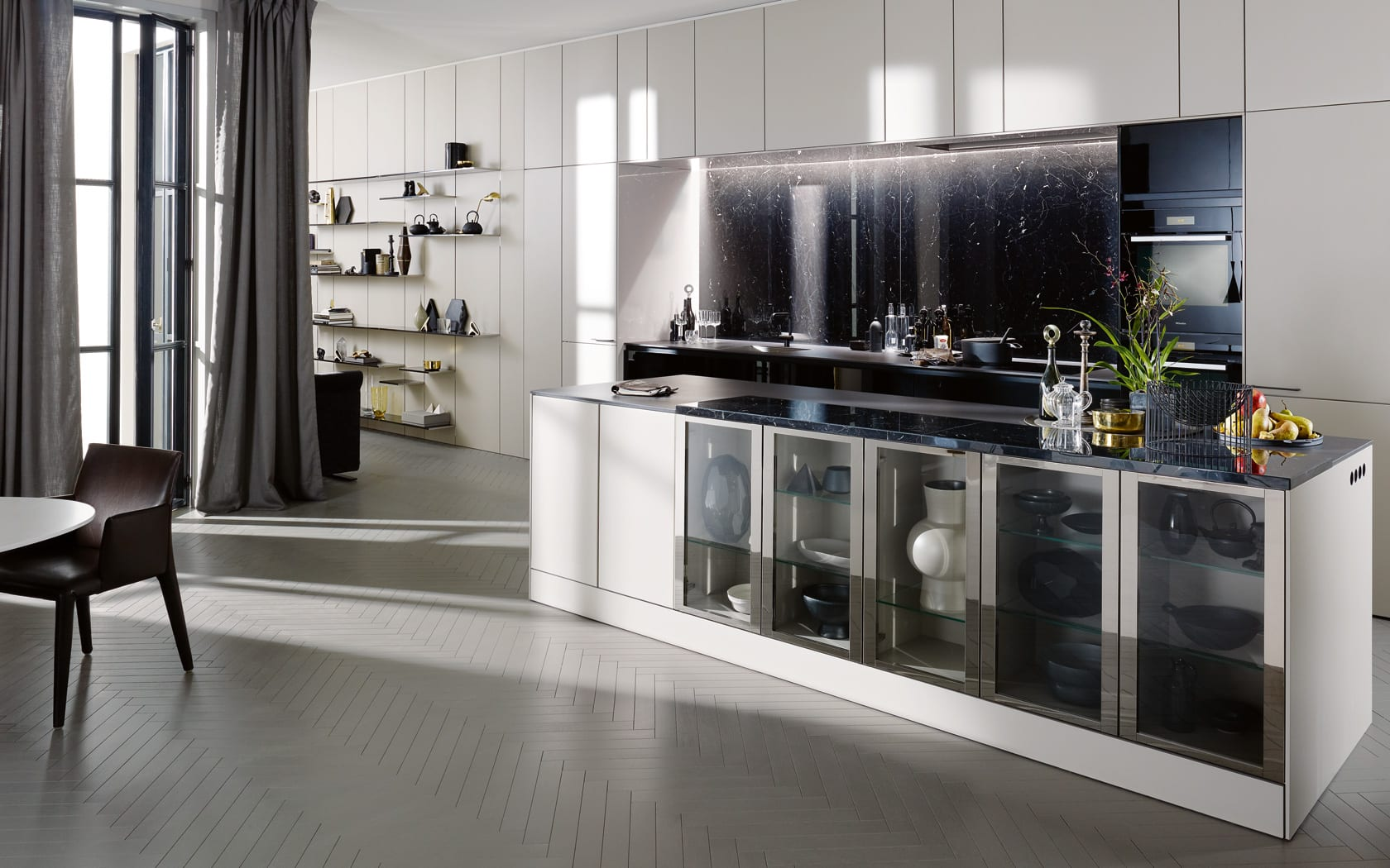 siematic k che die moderne k che freshouse. Black Bedroom Furniture Sets. Home Design Ideas