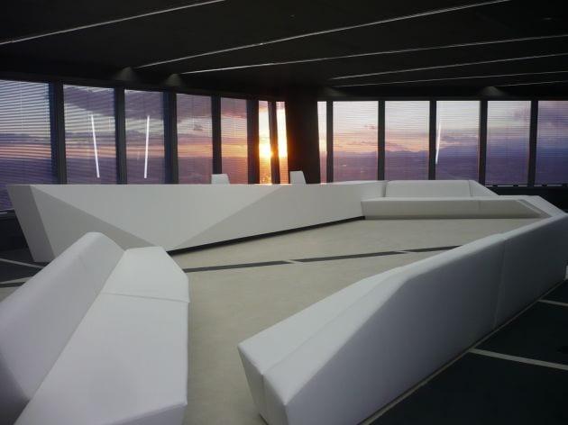 bürogebäude Innenausstattung mit Designermöbeln
