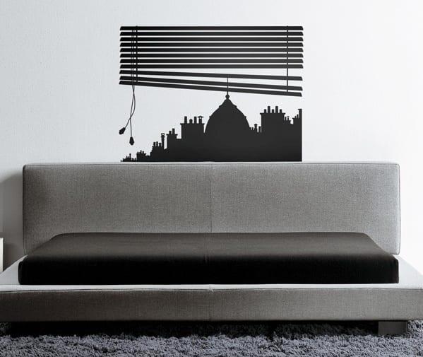 minimalistische wohnzimmer gestaltung- graue couch mit grauem teppich