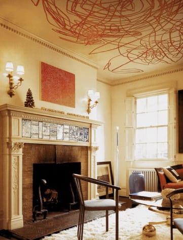 Kamingestaltung - wohnzimmer interior