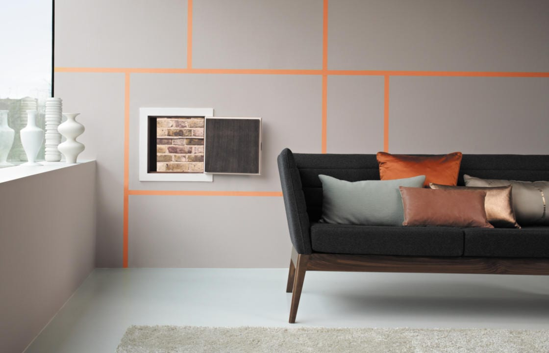 Farbe Taupe - elegante Wandfarbe Taupe - fresHouse
