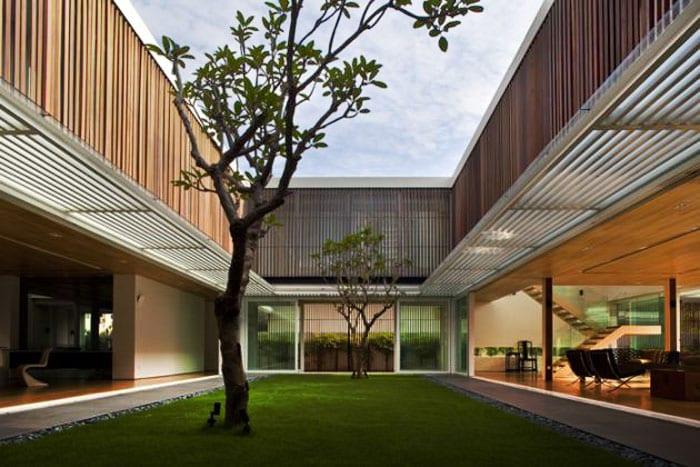 garten im haus - moderne häuser mit gartengestaltungsideen - freshouse, Garten und erstellen