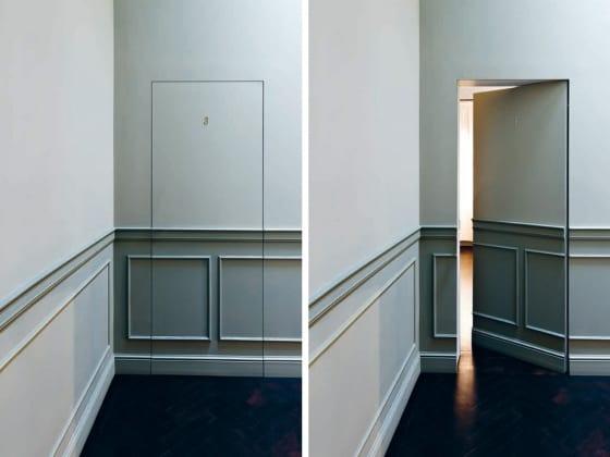 kreative Tür gestaltung-Wandgestaltung Idee