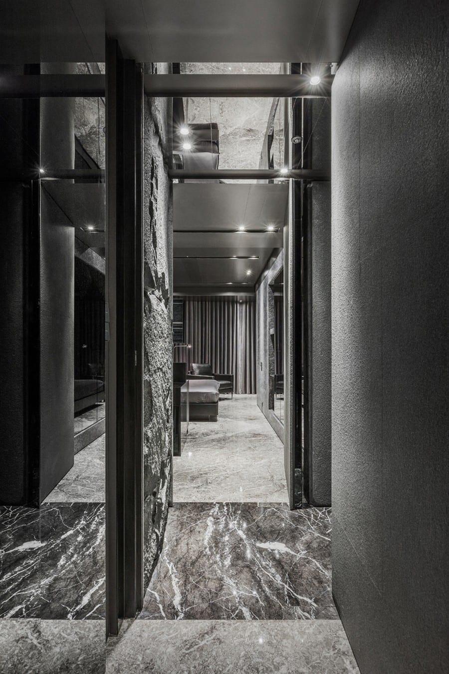 Luxus inneneinrichtung   home in black serenity von atelierii   ...