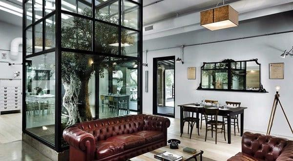 Interior Ideen- Restaurant Kook in Rom