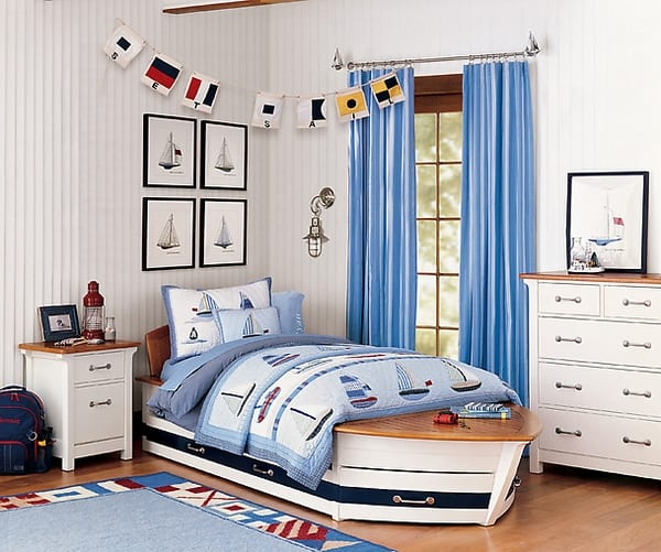 maritimes schlafzimmer schlafzimmer in wei und blau einrichten freshouse. Black Bedroom Furniture Sets. Home Design Ideas
