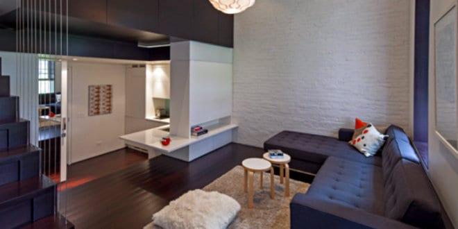 Kleine Loft-Wohnung – Manhattan Micro Loft von Specht Harpman