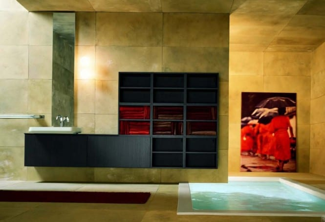 pool im badezimmer luxus badezimmer freshouse. Black Bedroom Furniture Sets. Home Design Ideas
