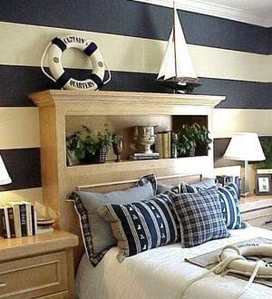 maritimes schlafzimmer schlafzimmer in wei und blau. Black Bedroom Furniture Sets. Home Design Ideas