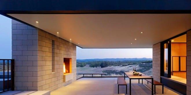 Überdachte Terrasse – moderne Terrasseneinrichtung