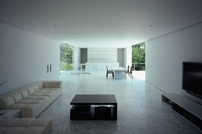 offener wohnraum gestaltungsidee-modernes hausdesign-offene küche