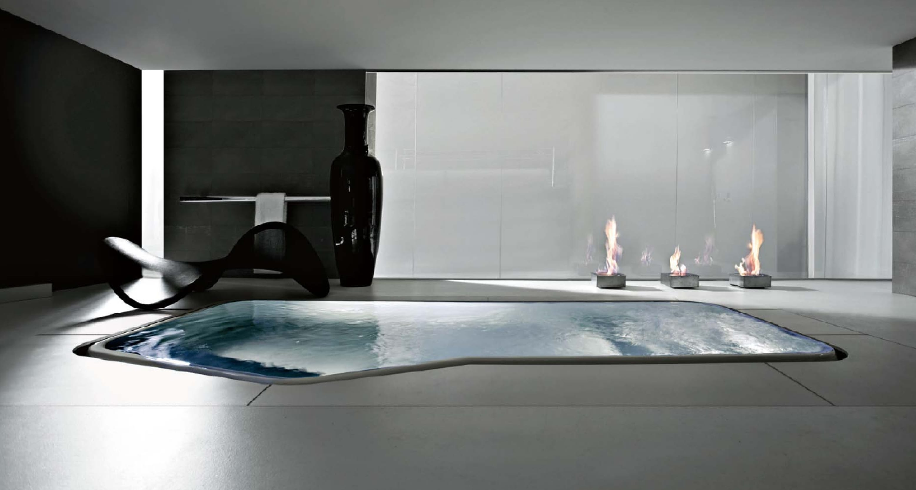 whirlpool badewanne - innenpool- luxus badezimmer