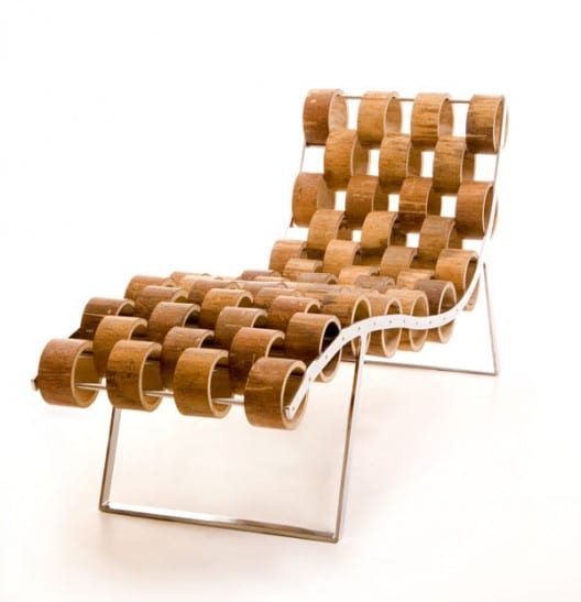 moderne Liege aus Bambusringen