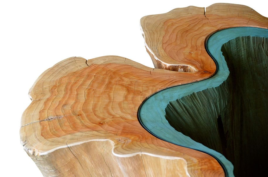 moderne Holzmöbel