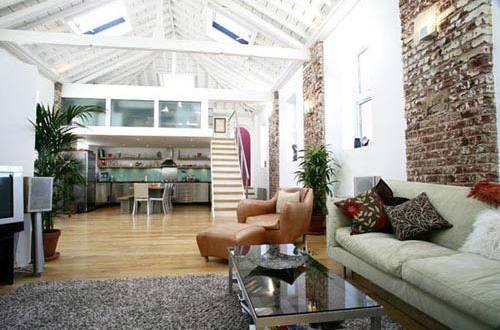 offener wohnraum gestalten open space haus freshouse. Black Bedroom Furniture Sets. Home Design Ideas