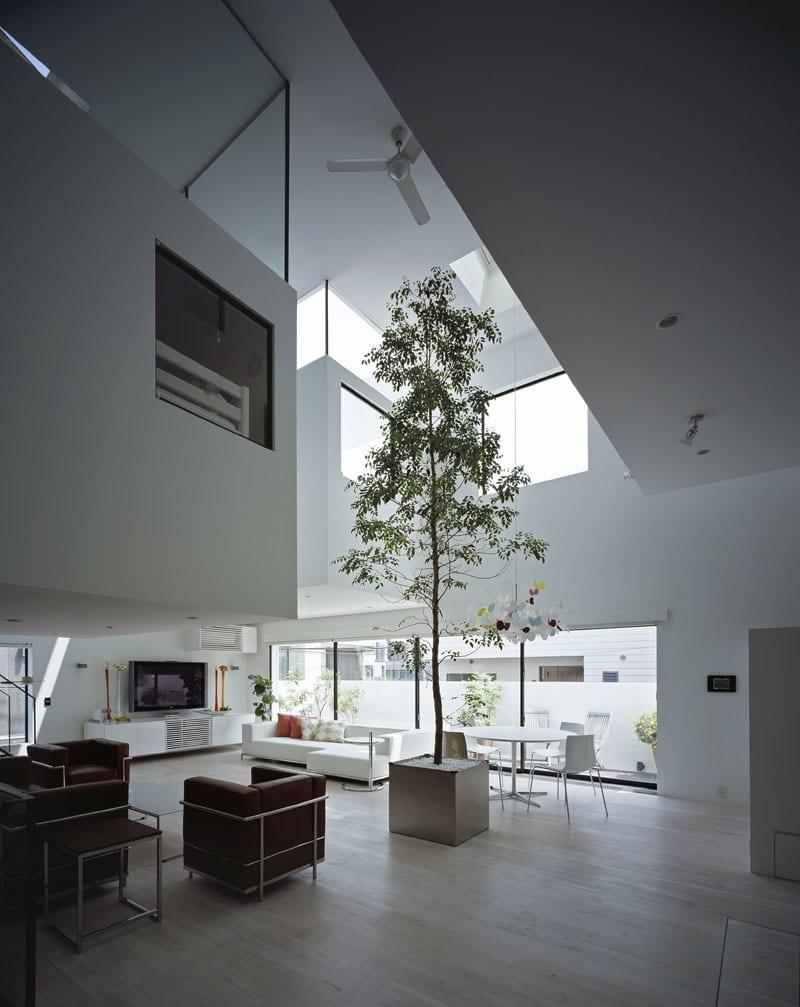 mezzanine design-minimalistische haus einrichtung