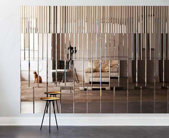 wandgestaltung mit spiegeln optische raumerweiterung. Black Bedroom Furniture Sets. Home Design Ideas