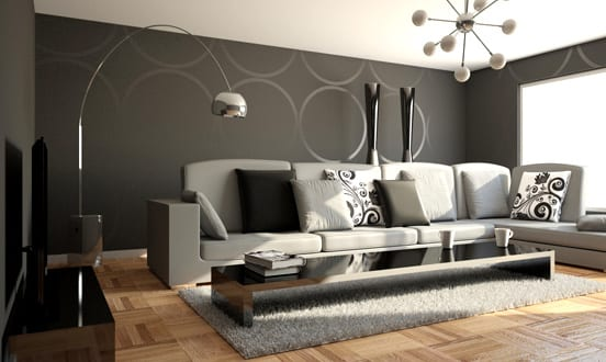 teppich grau wohnzimmer grau freshouse. Black Bedroom Furniture Sets. Home Design Ideas