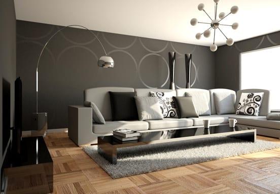 wohnzimmer teppich grau:teppich grau- wohnzimmer grau – fresHouse
