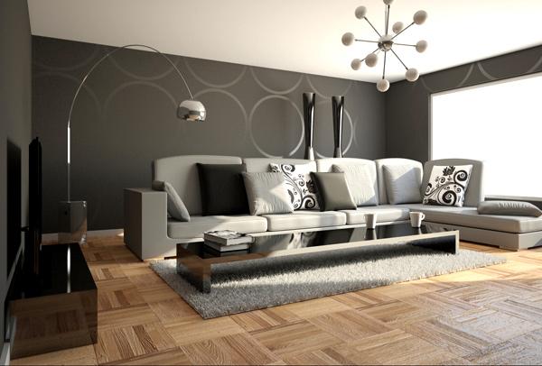 teppichboden grau wohnzimmer haus deko ideen
