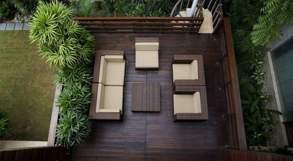 terrassengestaltung holz freshouse. Black Bedroom Furniture Sets. Home Design Ideas