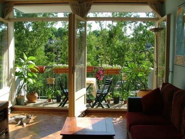 kleiner balkon gestalten
