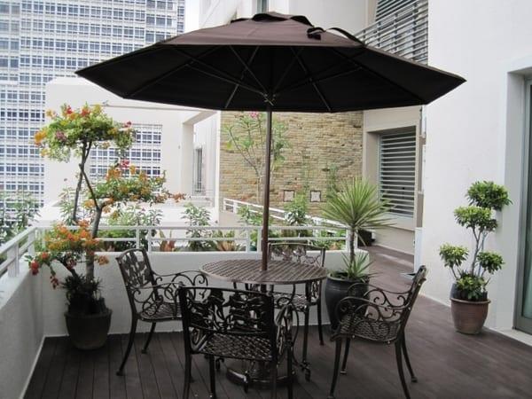 kleiner Garten in der stadt- ideen für terrassengestaltung