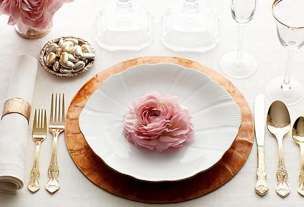 Tisch eindecken regeln und tischdeko ideen freshouse for Kitchen tea table setting ideas