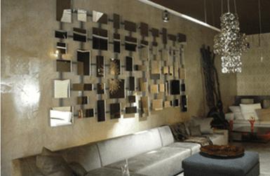 modernes wohnzimmer einrichten- sofa grau