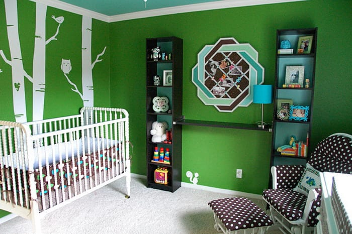 Wandgestaltung Grün - fresHouse