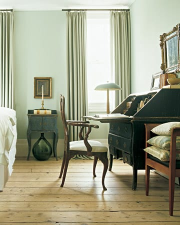 wandgestaltung gr n freshouse. Black Bedroom Furniture Sets. Home Design Ideas