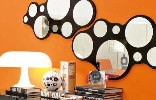 wandspiegel deko idee freshouse. Black Bedroom Furniture Sets. Home Design Ideas
