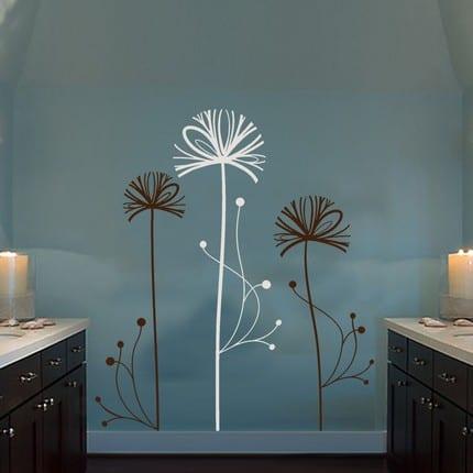 moderne Wohnzimmer einrichtung- farbgestaltung idee- wand streichen idee