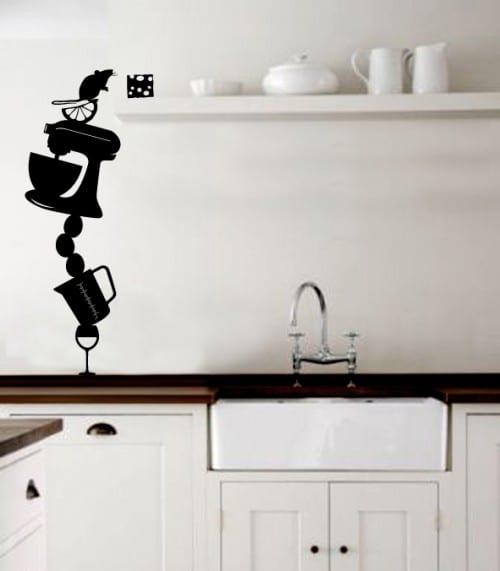 wandgestaltung küche