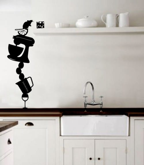 Wall Decal Kitchen Backsplash
