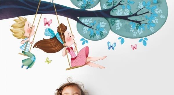 Wandtattoo Kinderzimmer – kreative Kinderzimmergestaltung
