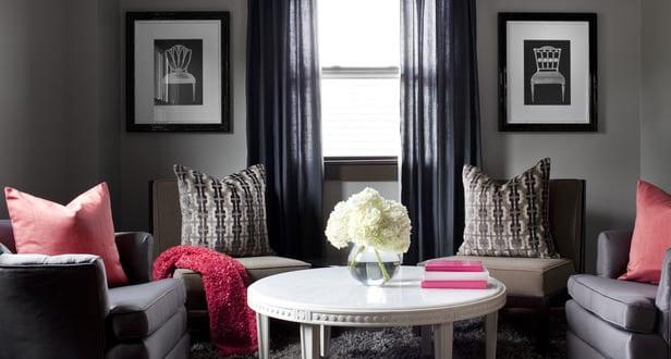 gardinen wohnzimmer grau alle ideen f r ihr haus design und m bel. Black Bedroom Furniture Sets. Home Design Ideas