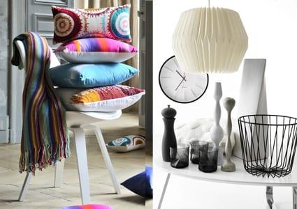 farbige und frische accessoaries