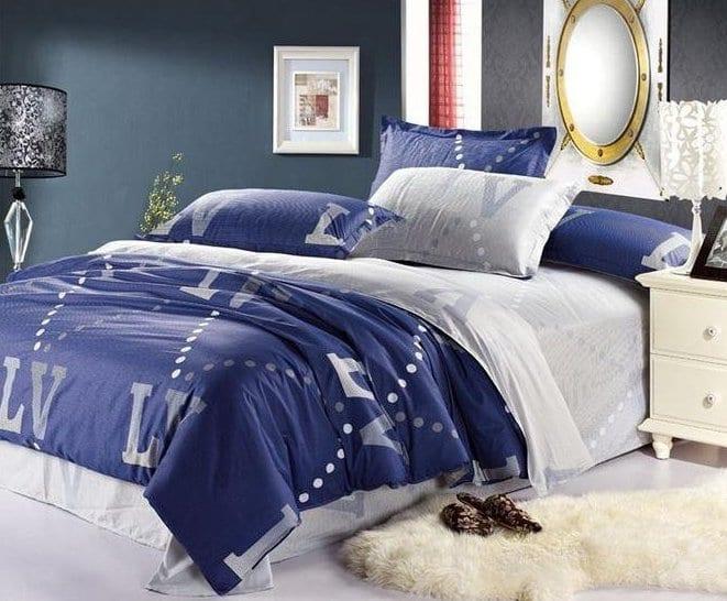 schlafzimmer blau mit wandfarbe blau