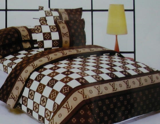 schlafzimmer gestalten mit bettwäsche braun