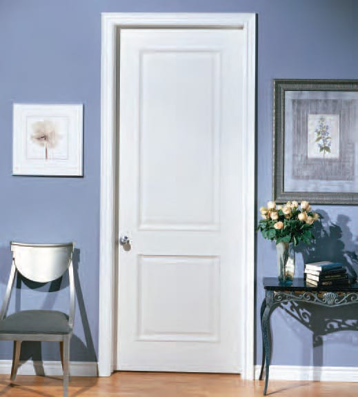 wandfarbe blau-bilderrahmen und sideboard dekorieren