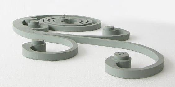 kreative wohnidee- moderne graue steckdose