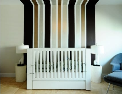 babyzimmer wandgestaltung streifen die neuesten. Black Bedroom Furniture Sets. Home Design Ideas