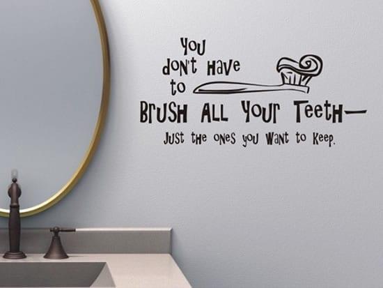 lustige wandtattoo sprüche fürs badezimmer