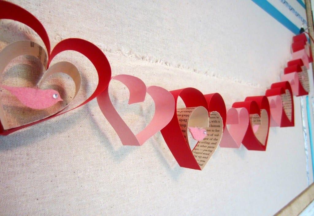 basteln valentinstag-deko zum valentinstag - fresHouse
