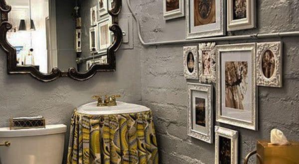 bilderrahmen dekorieren badezimmer wandgestaltung freshouse. Black Bedroom Furniture Sets. Home Design Ideas