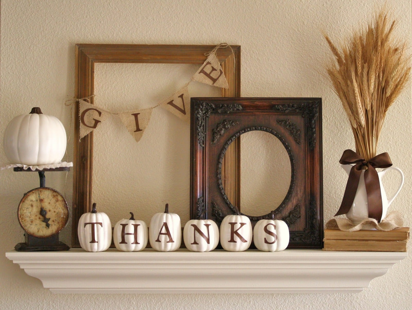 thanksgiving day deko idee