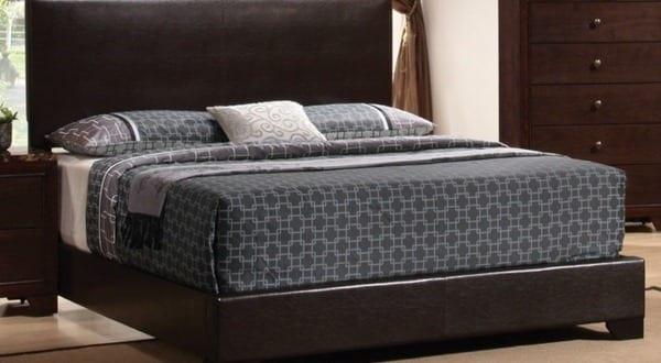 box spring bett braun freshouse. Black Bedroom Furniture Sets. Home Design Ideas